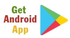 """This is the icon for """"Get Android Ap"""" and is used as a hotlink button to click you through to instructions for getting the bill pay ap from the Play Store."""